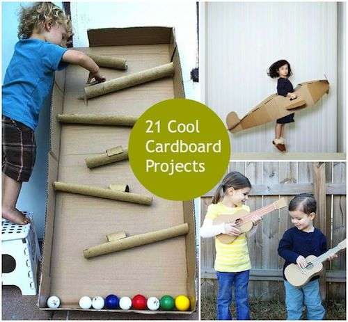 If you're already on the hunt for fun projects to do with your kids during these long, cold winter months, start saving your cardboard boxes, toilet paper and paper towel tubes because I've got a whole bunch of good ideas for you. Click through the gallery below for 21 super fun cardboard projects! nggallery id='123483'…