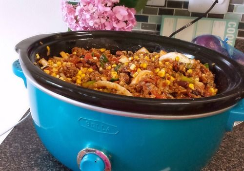 crockpot taco soup: this was on my dinner list but I wasn't really sure how to make it!