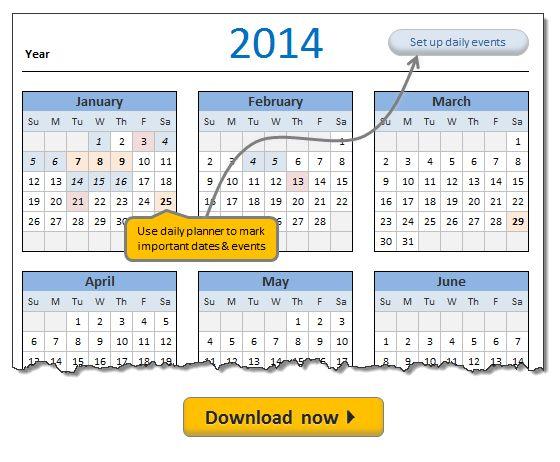 Top Result 60 Fresh Ms Excel Calendar Template 2014 Gallery 2017