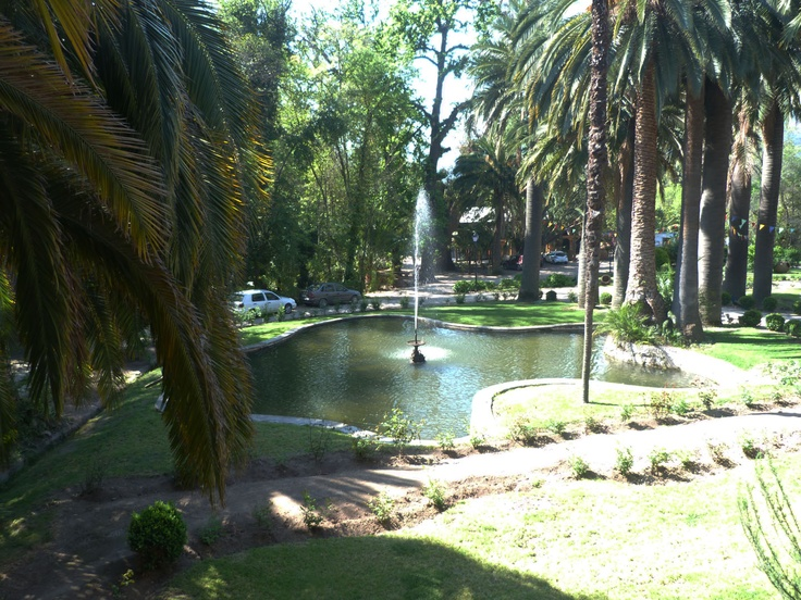 Laguna artificial del frontis