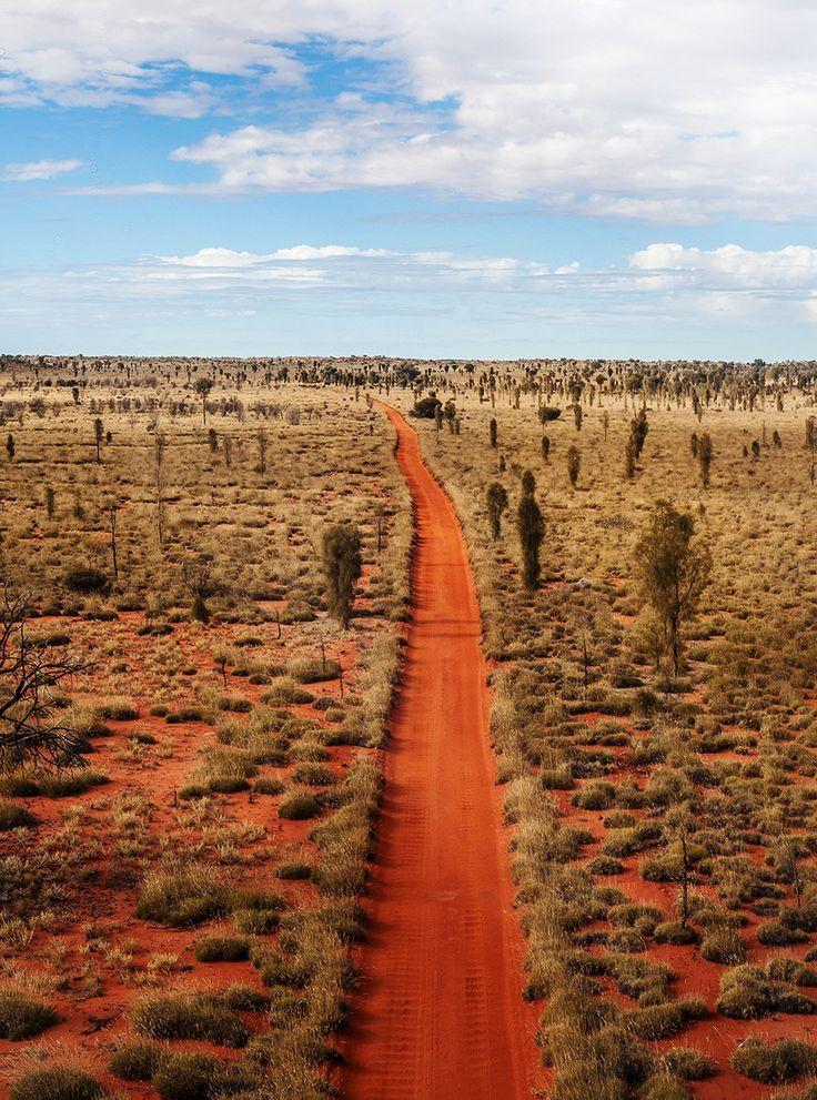 Road Trip - Dirt Road - The Northern Territory - Australia - Photographed by Kara Rosenlund