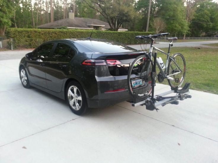 Subaru Crosstrek Bike Rack >> Chevrolet Volt with EcoHitch and bike rack. Photo courtesy of Michael McGinnis. | EcoHitch ...