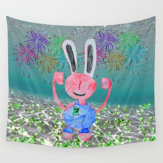 ♥️👄 #happyvalentinesday #society6 #ittakes2 #love #valentine #valentineday #Namaste #yoga #popart #bath #giftideas https://society6.com/product/money-money-lord-stingy-kids-painting_tapestry?curator=azima