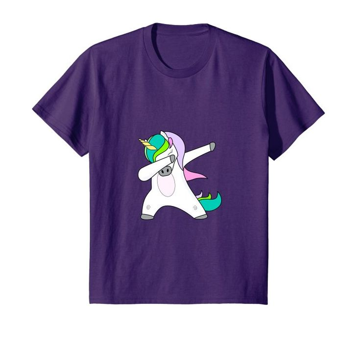 Dabbing Unicorn Shirt - Funny Unicorn Dab T-shirt Kids Gift: This dabbing unicorn tee with famous dab dance pose is a great gift for unicorn lovers. The hip hop unicorn shirt is awesome for Birthday or Christmas gift idea for her-Wife, Mother, Sister, Brother, Smalls, Aunt, Girlfriend #dabbing #unicorn #shirt