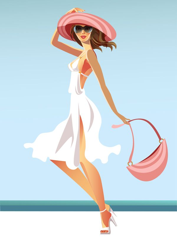 Here's a great sexy summer girls vector design. Indeed, this amaizing design is available for free download right now. This are the hottest summer vector woman, designed in great details, can be use for posters, flyers and website logos, available fo...