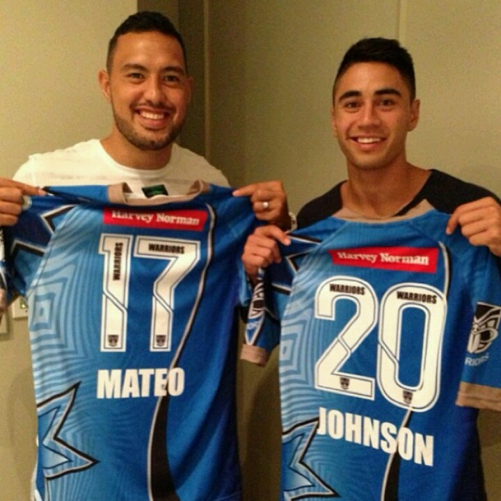 Mateo & Johnson...NRL ALLSTARS...sorry you lost boys...