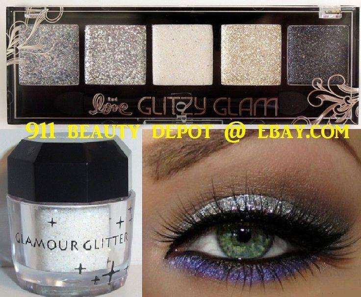 Beauty Treats ROCKNROLL GLITTER Eye Shadow Color Makeup Cream Eyeshadow Palette     eBay