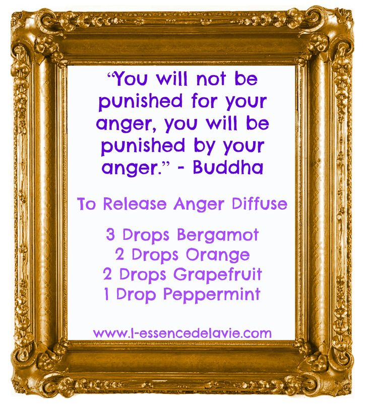 We all get angry at times, it is a natural emotion. How you deal with anger determine whether you have control over your anger or whether your anger has control over you. Here's a diffuser blend to help you manage and release anger. www.facebook.com/lessencedelavieus