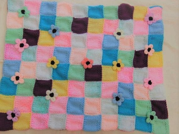 Double Sided Reversible Patchwork Blanket by Creationsfortinytots