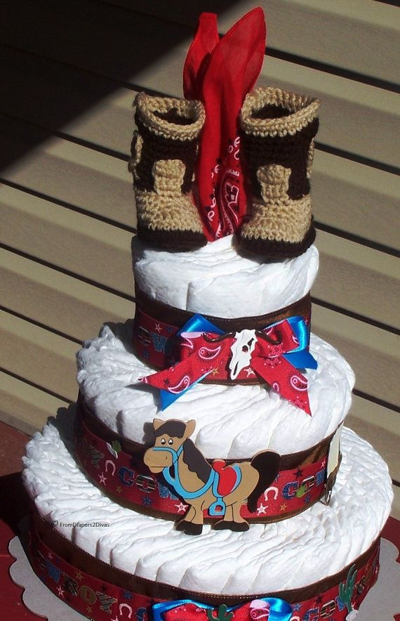 Western Diaper Cake