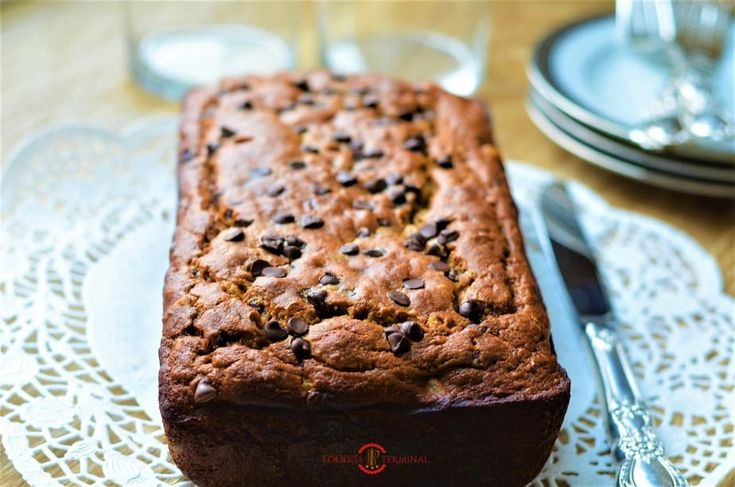 Gluten Free Chickpea Flour Banana Bread without sugar ...