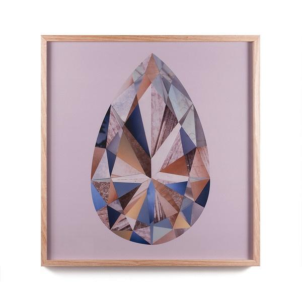 amethyst, augite, quartz, diamond, topaz.    liesl pfeffer at edition x
