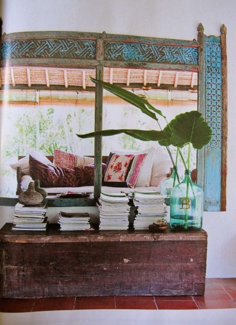 New post: a life story in design - Copenhagen & Bali Balinese verandah