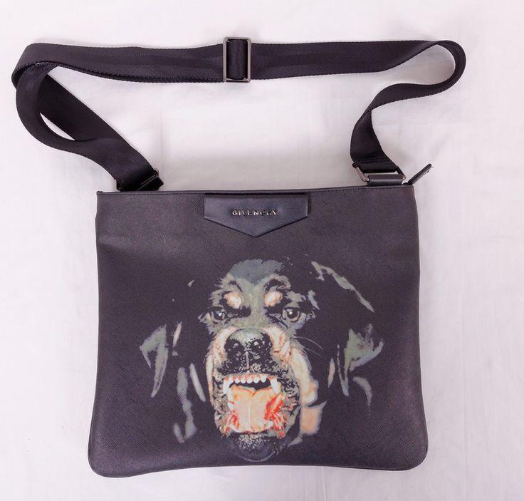 Сумка Givenchy с наплечным ремнем, с рисунком - бульдогом !! Последняя распродажа модели !! Продаётся с большой скидкой !! !! Отличное качество и низкая цена !!
