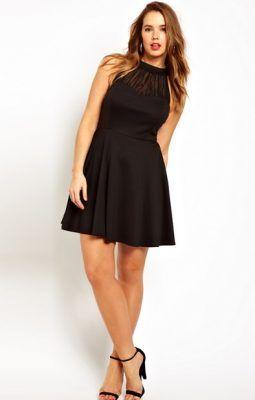 vestidos cortos de noche para jovenes gorditas