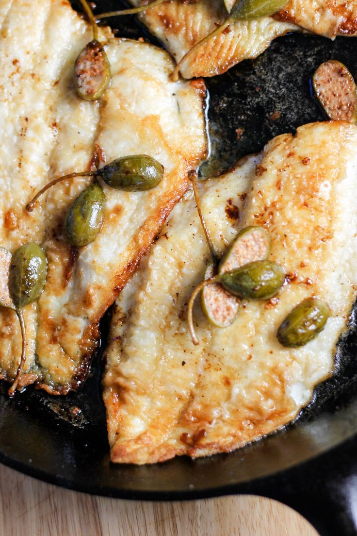 Lemon Sole with Caper Berries by Diverse Dinners