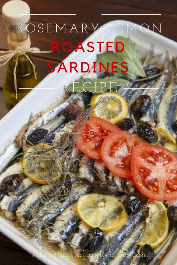In this recipe we are using sardines, although you can use fresh smelts or anchovies if you prefer. The sardines need to be fresh and cleaned.