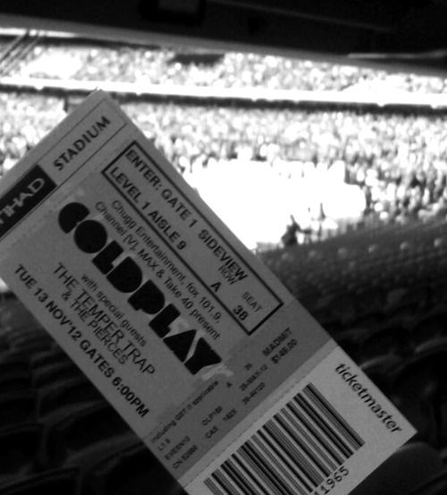 coldplay tickets
