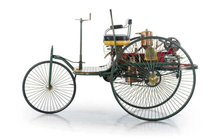 1886 Generally accepted to be the first proper automobile, the Benz Patent-Motorwagen was released to the public.