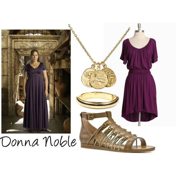Donna Noble, created by companionclothes on Polyvore