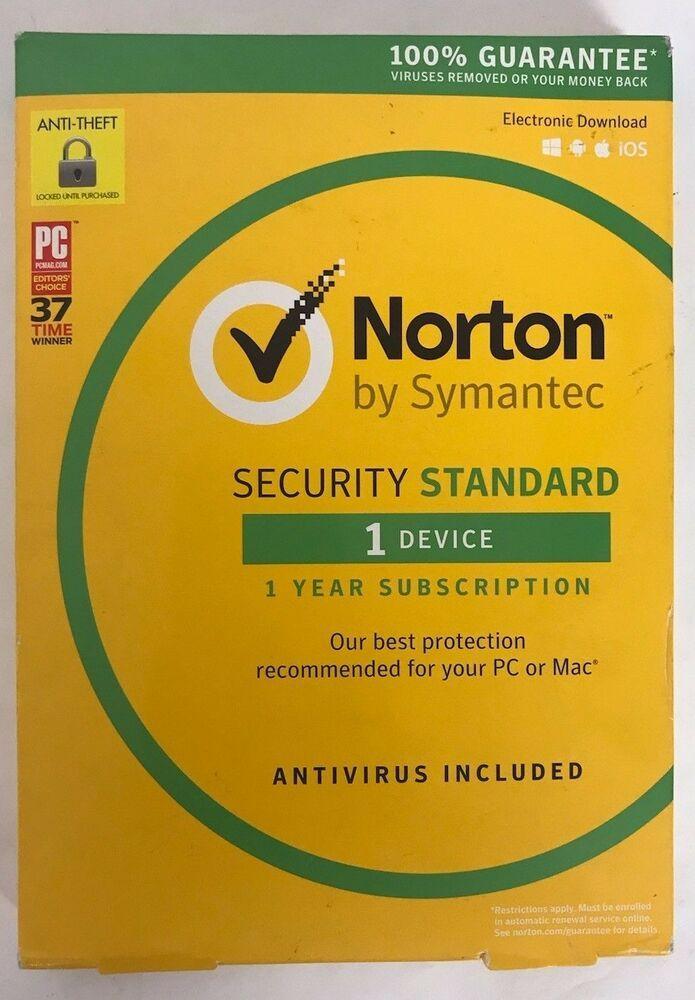 eBay #Sponsored NEW SOME BOX DAMAGE Norton Security Standard