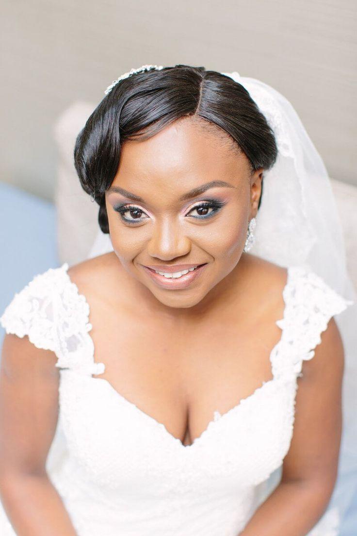 Elegant Gold Toronto Wedding - Black Bride Magic - Bridal makeup