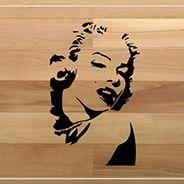 Salvaparquet Marilyn Monroe dettaglio