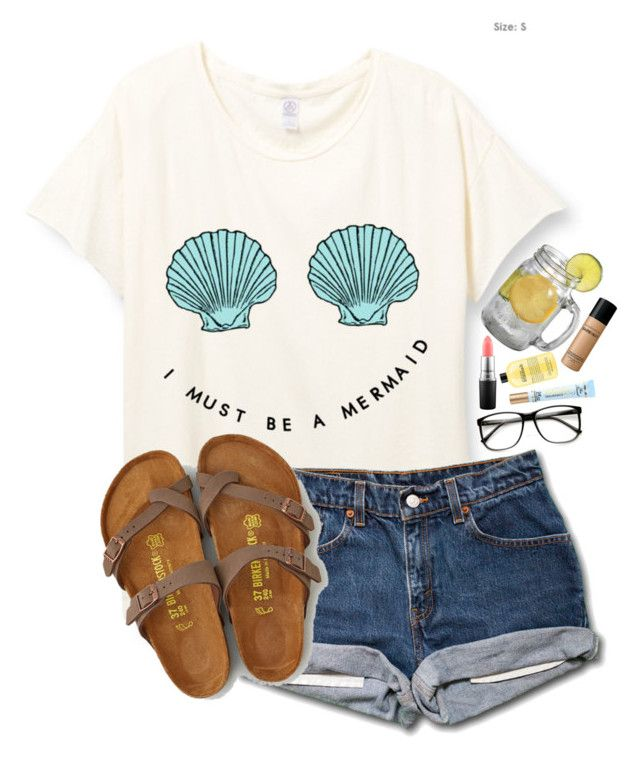 """""""Should I buy Birkenstocks?"""" by lacrosse-19 on Polyvore featuring American Eagle Outfitters, MAC Cosmetics, Too Faced Cosmetics, philosophy and Bare Escentuals"""