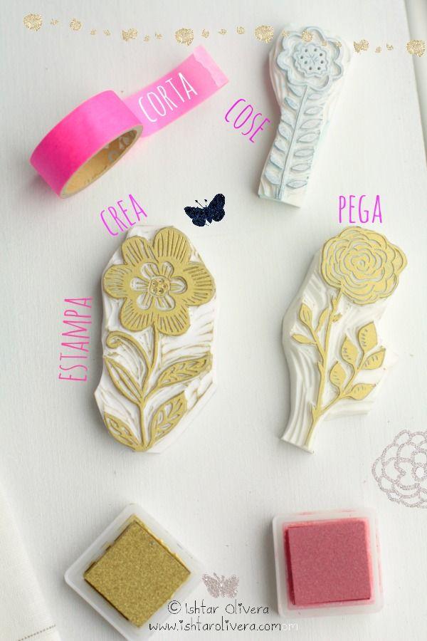 Ishtar Olivera - rubber stamps