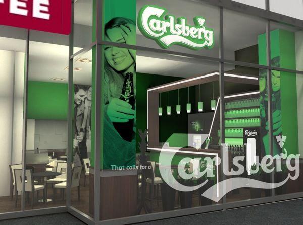 Carlsberg Lounge Design @Budapest on Behance