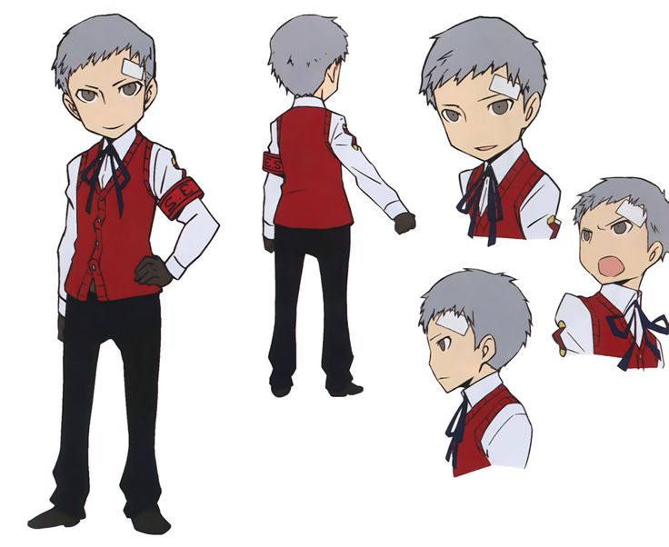 Akihiko Concept from Persona Q: Shadow of the Labyrinth