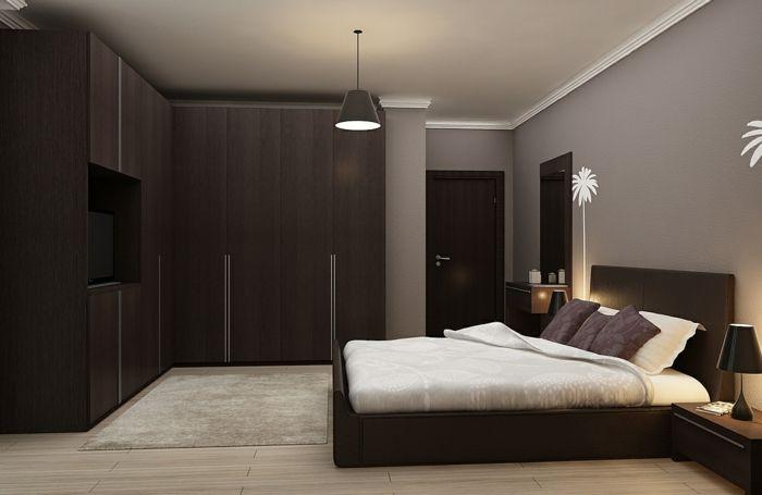 1001 Idees D Interieurs Et D Amenagement En Couleur Wenge Idee Deco Chambre Meuble Wenge Deco Chambre