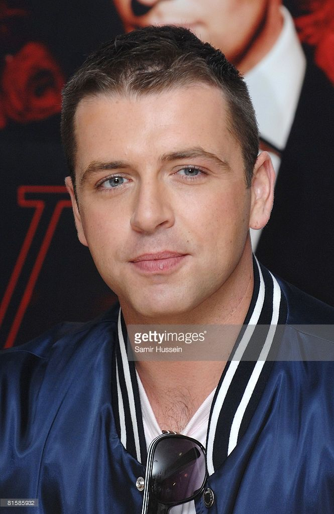 Mark Feehily of Westlife poses at a signing session for the group's new book 'Westlife' at Waterstone's on June 16, 2008 in London, England.