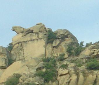 Gökbel Vadisi Kayaları
