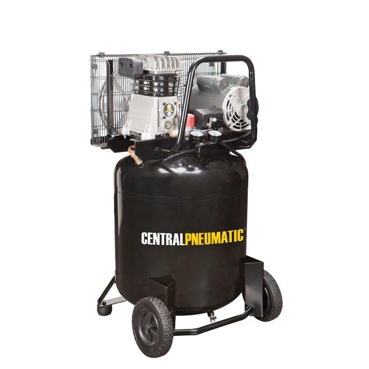 29 gal. 2 HP 150 PSI Cast Iron Vertical Air Compressor