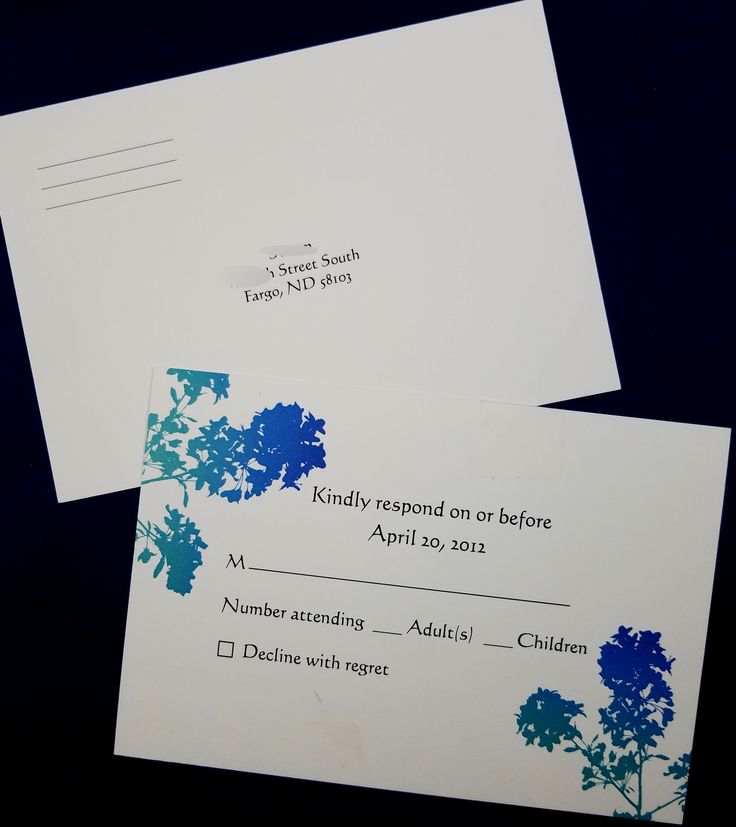 reply to wedding invitation m%0A Watercolor flower rsvp