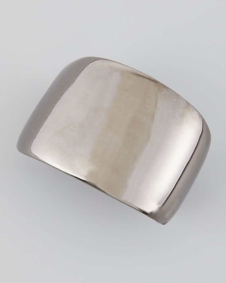 Kenneth Jay Lane Polished Gunmetal Cuff wTflf6h9tL