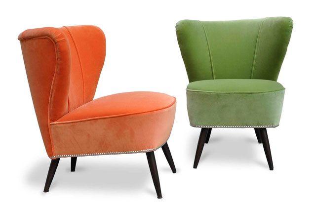Gallery Poltrone rifatte Italian Vintage Sofa (con