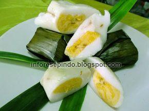 Kue Nagasari Pisang Tepung Beras - Resep Kue Basah Indonesia