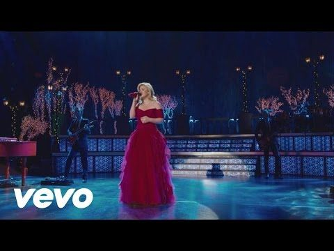 """Kelly Clarkson is joined by Reba McEntire and Trisha Yearwood for this glorious version of """"Silent Night""""   Rare"""