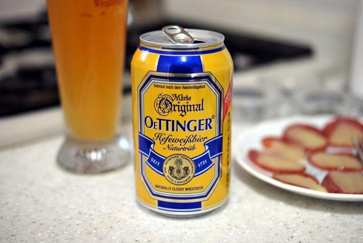 Oettinger Brauerei - Hefeweißbier Naturtrüb // Germany