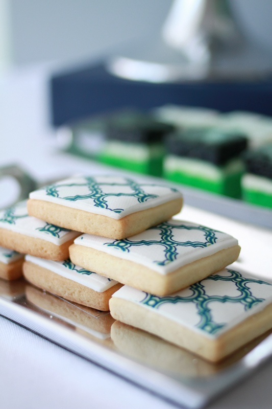 Trellis Cookies by L&V Sweets