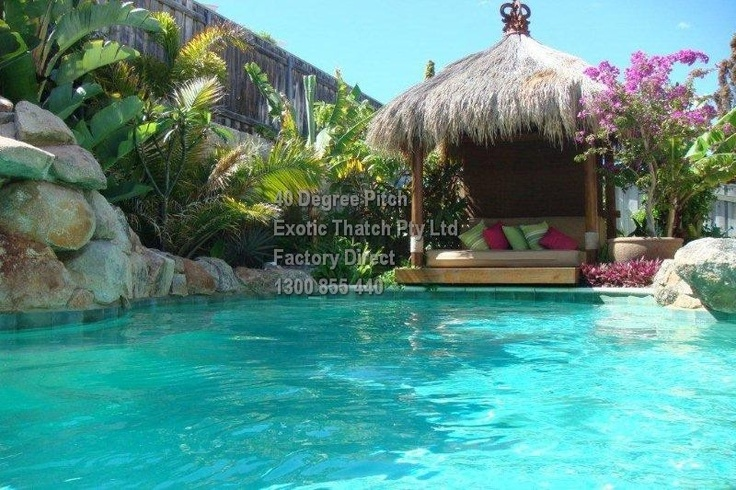 36 best images about design inspiration on pinterest la for Pool hut designs