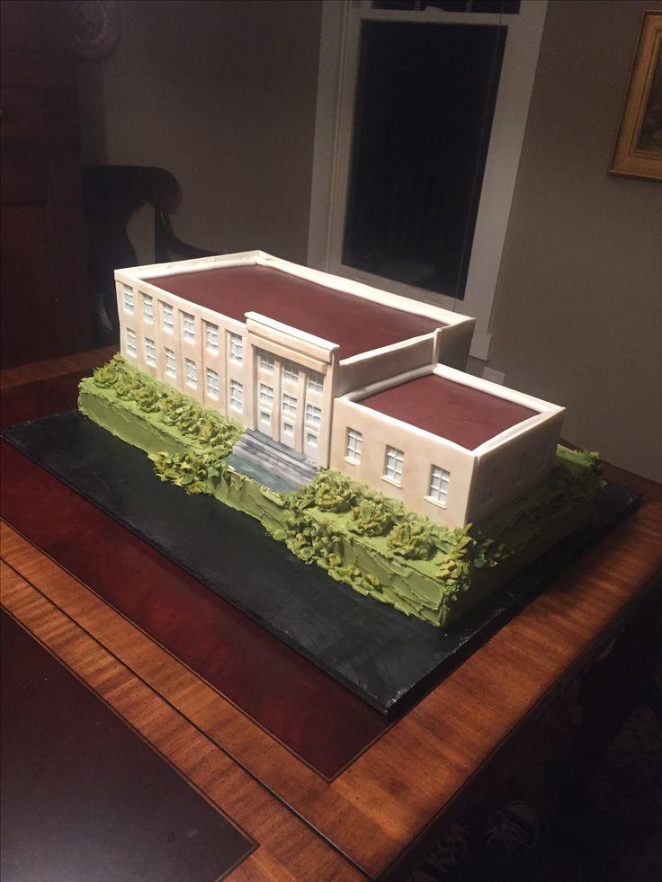 Recreation of LaGrange High School in Georgia. @beautifullybakedbybonne