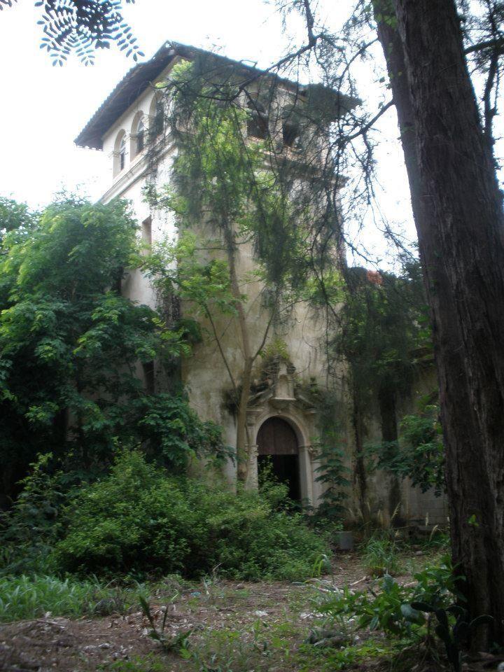 An abandoned  mansion - Havana, Cuba.