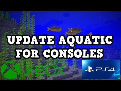 Minecraft PS4 / Xbox 360 - AQUATIC UPDATE | Minecraft blue