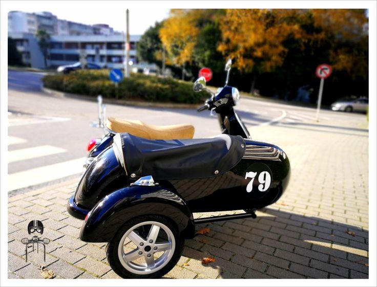 Vespa lx 125ie sidecar 79