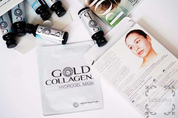 Hydrogel mask by Gold Collagen - Blogger's Review