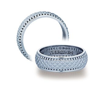 wedding ring (MV-7041) from VERRAGIO for MEN @verragio