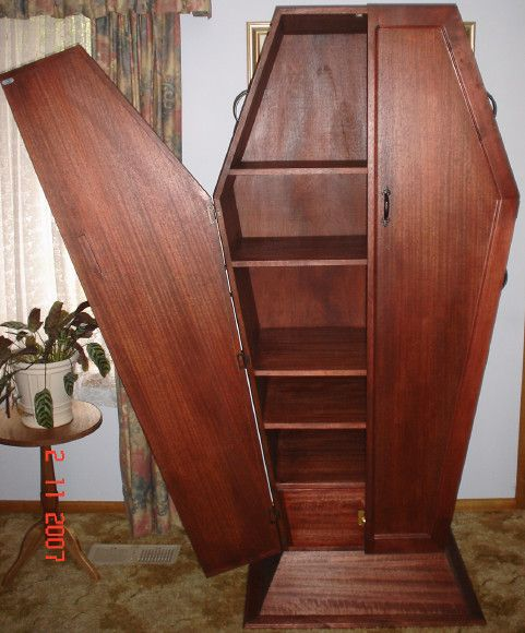 78+ images about Coffin Shelves on Pinterest | Shelves, Entertainment units and Bookcases